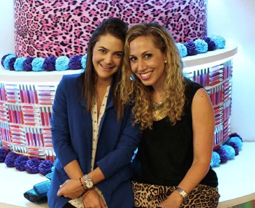 Adriana Castro y Jeannette Kaplun