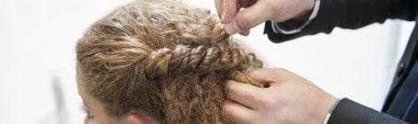 Peinado para pelo rizado paso a paso