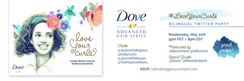 Ama tus rizos con Dove #LoveYourCurls Twitter Party