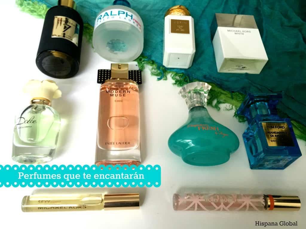 perfumes que te encantarán
