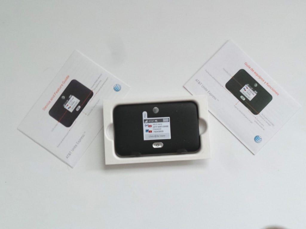 AT&T unite express wifi hotspot