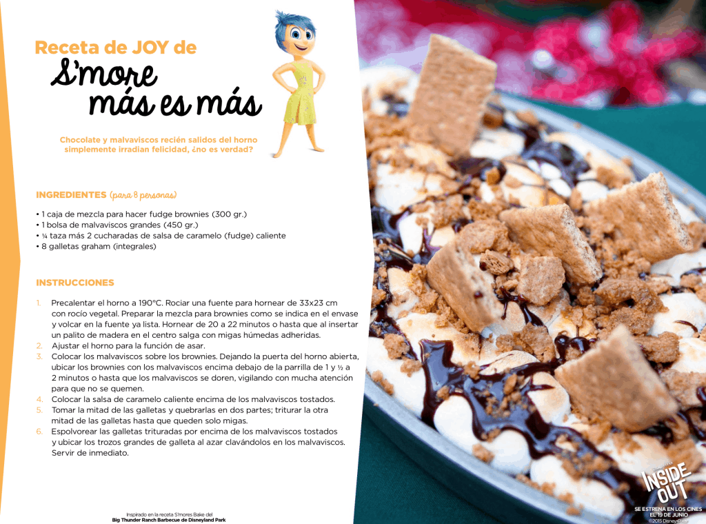 Receta Smores Inside Out