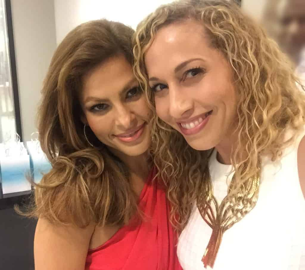 Eva Mendes y Jeannette Kaplun