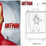 Dibujos para colorear gratis de Antman: el hombre hormiga
