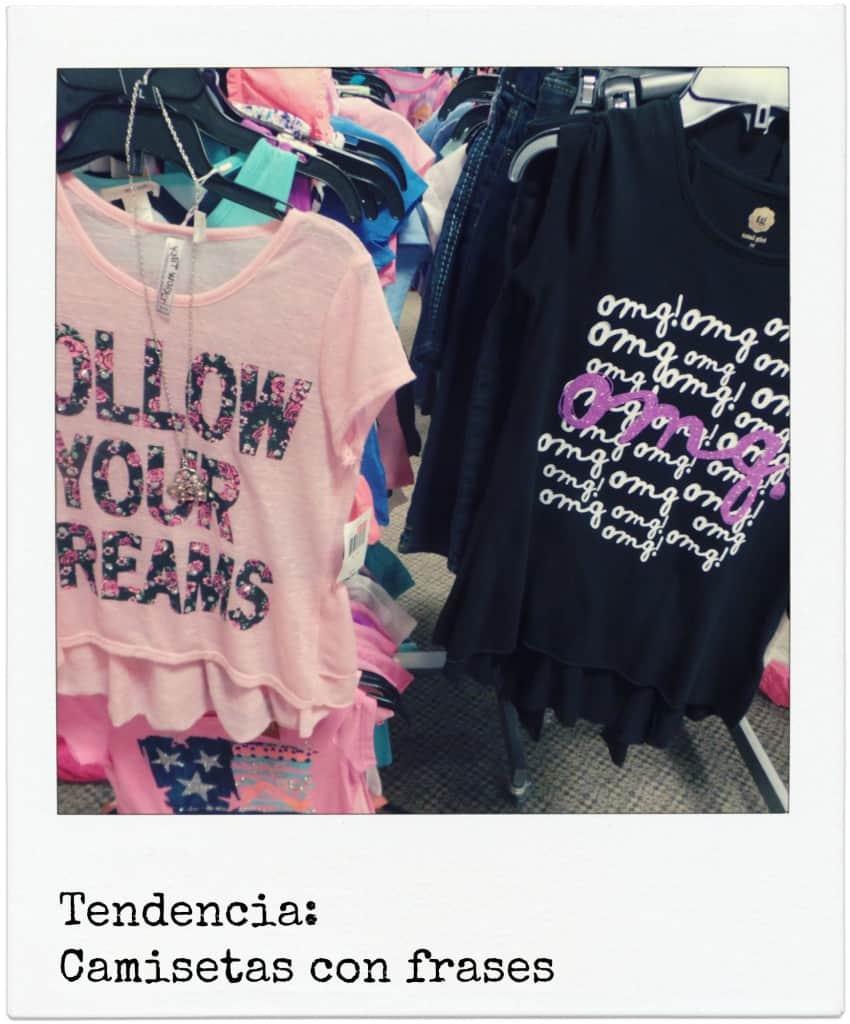 tendencia regreso a la escuela camisetas con frases