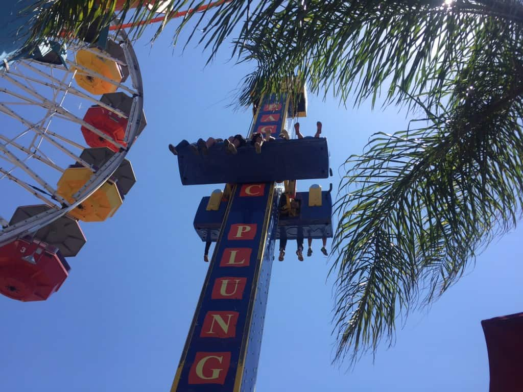 Diversión en Santa Monica Pier