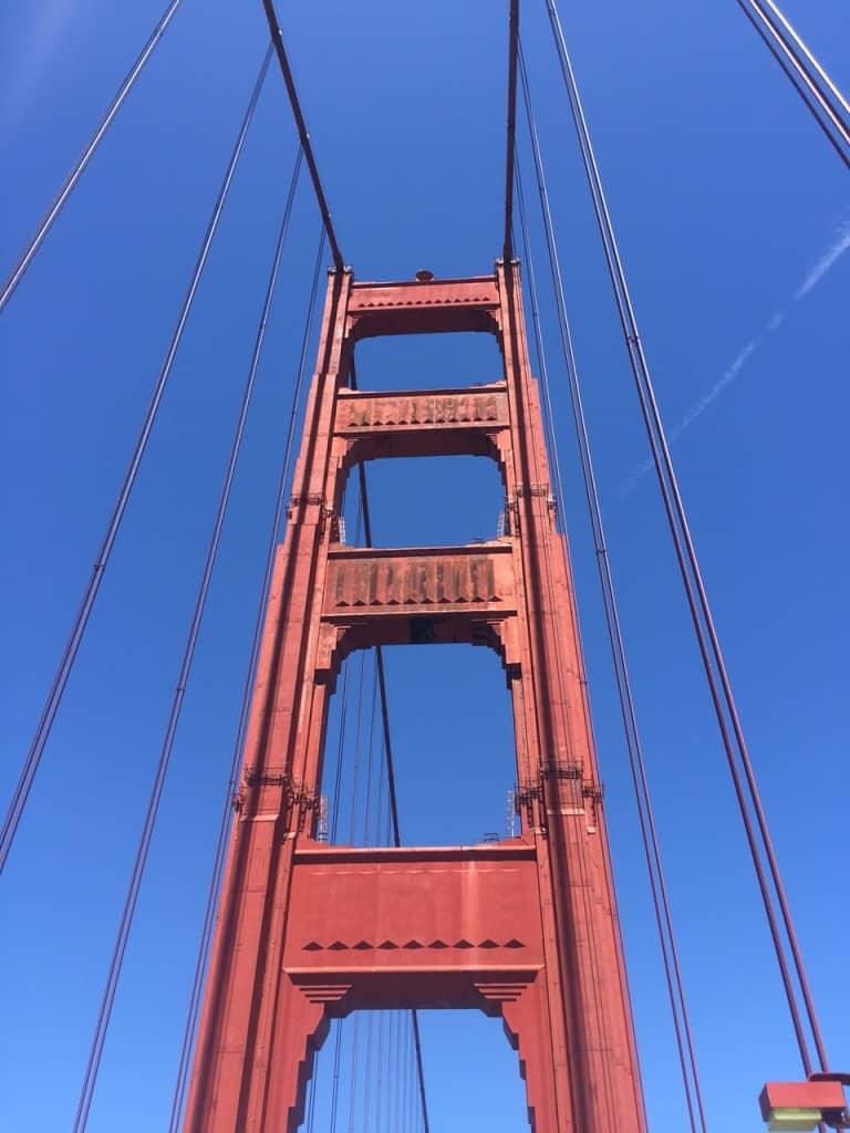 Golden Gate closeup