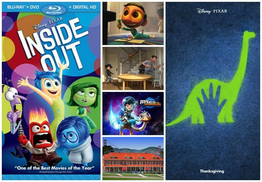 Novedades de Disney Pixar