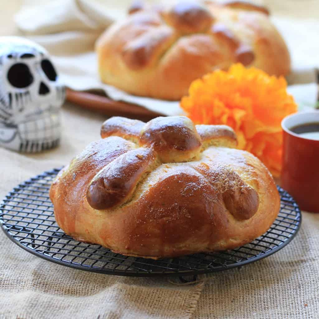 Receta de pan de muertos
