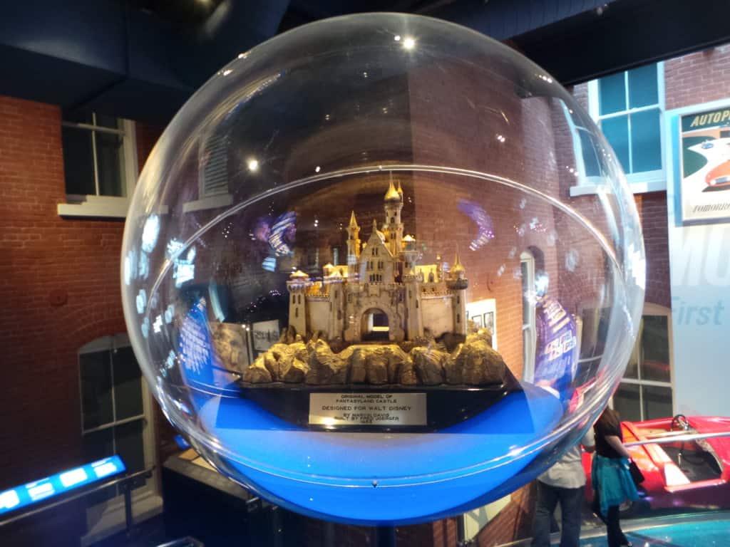 Objetos en museo de Walt Disney