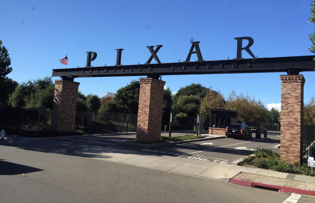 Pixar animation studios entrance