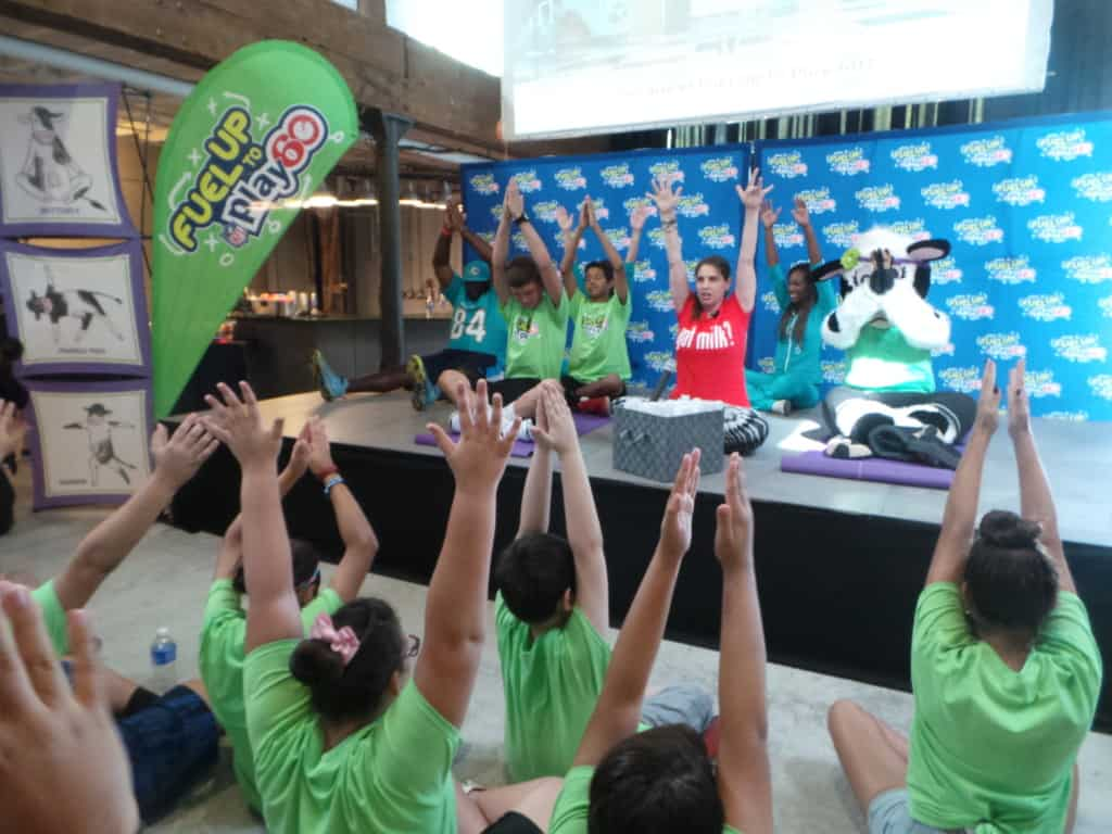 Yoga con Cookie en FUTP