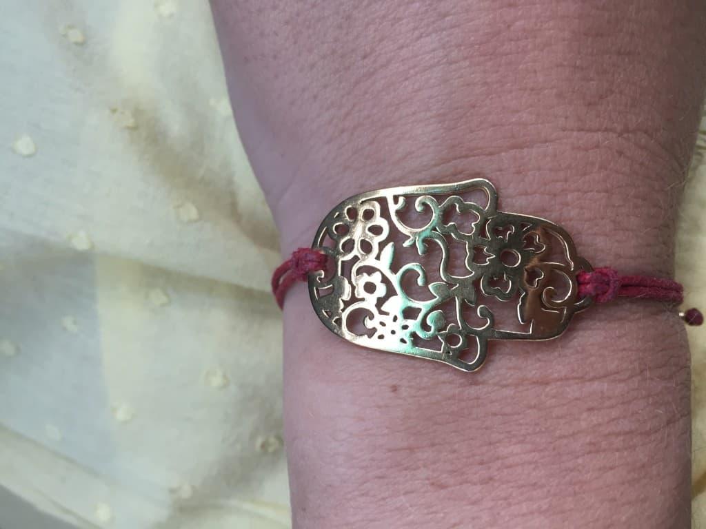 Amuleto para cuidarse de las energías negativas, mano de Fátima