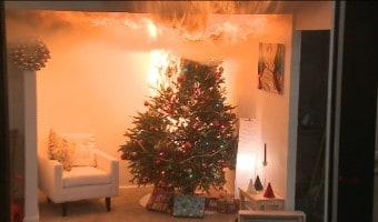 Mantén segura a tu familia a la hora de decorar tu hogar para Navidad