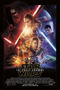 Poster de Star Wars The Force Awakens