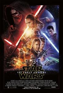 Poster de Star Wars The Force Awakens