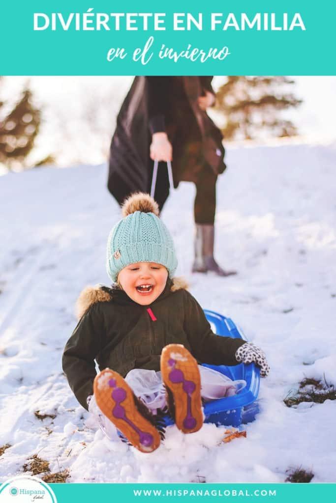 Cómo divertir a tus hijos en el invierno