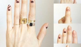 Manicure del desfile de Stella McCartney
