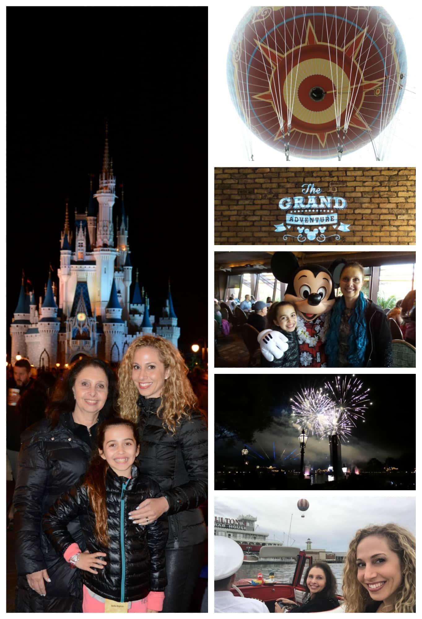 Viajar a Disney World con abuelos y nietos