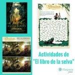"""Actividades que puedes imprimir gratis de """"El Libro de la Selva"""""""