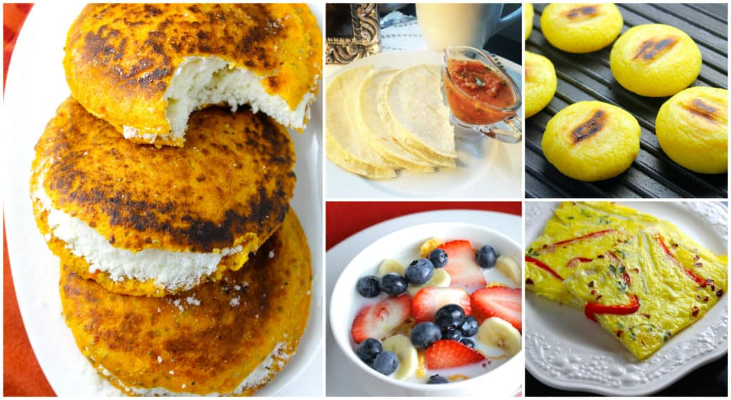 Collage Desayunos SIN GLUTEN