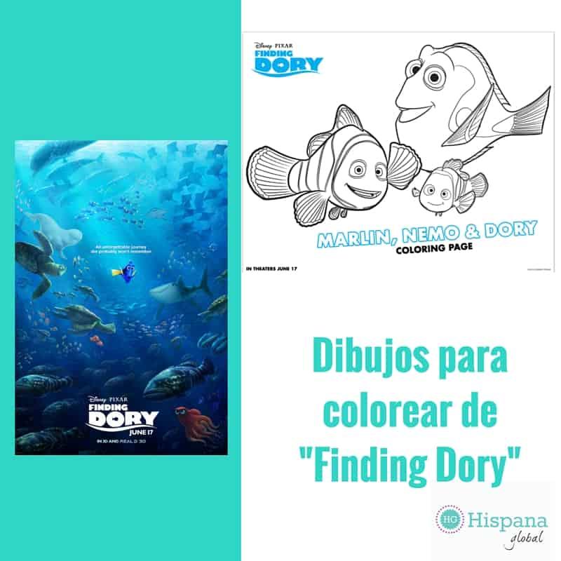 Dibujos para colorear Finding Dory