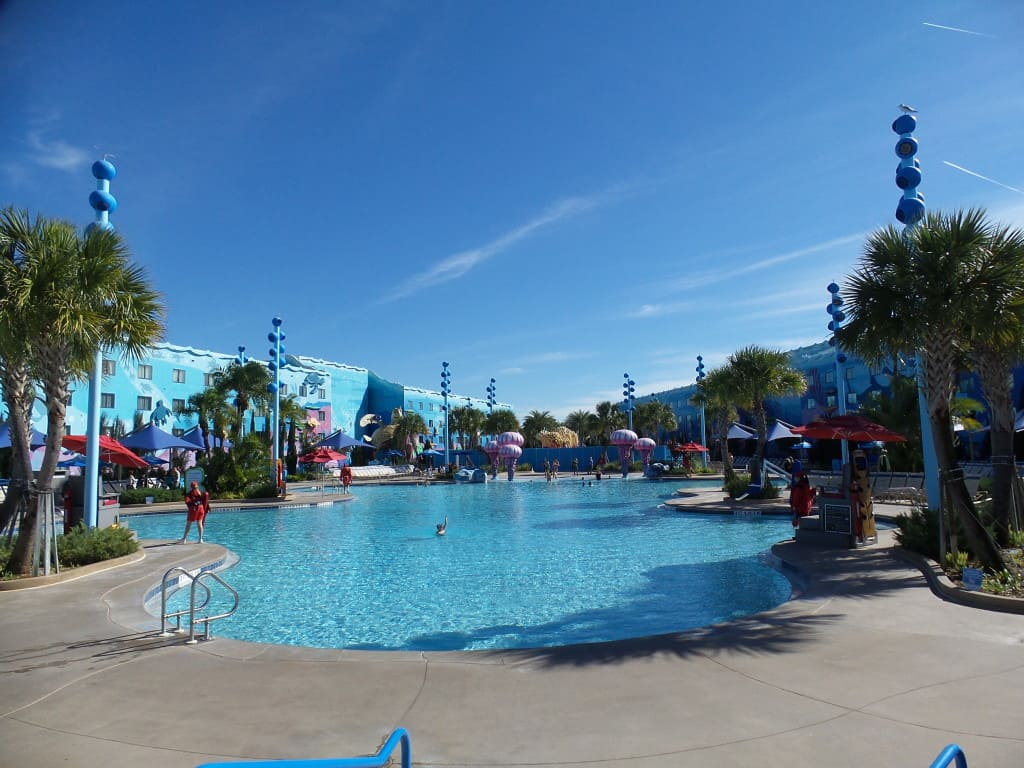 Disney Art of Animation Resort pool
