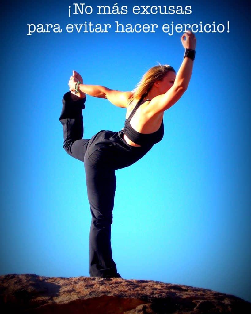 No más excusas para evitar hacer ejercicio
