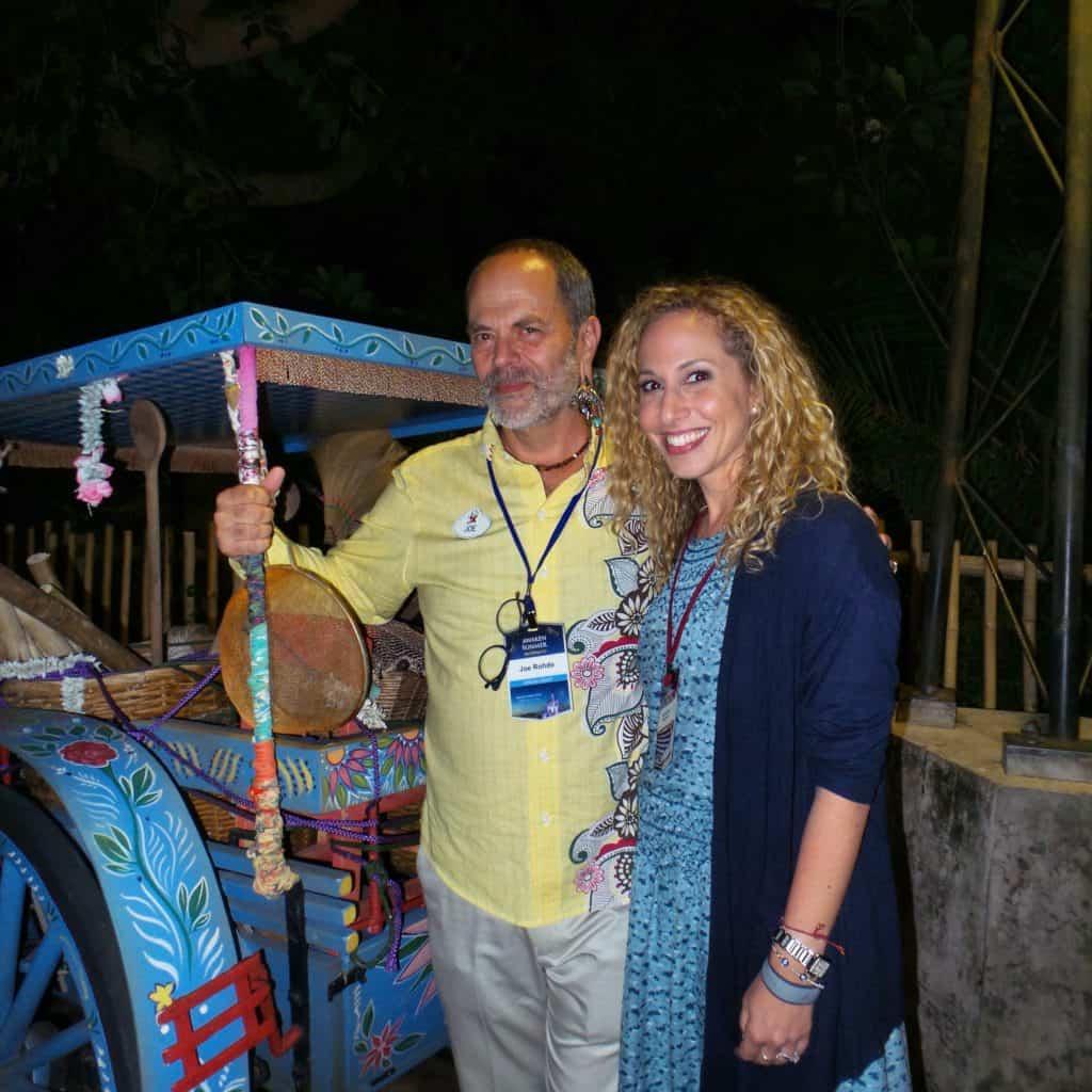 Joe Rohde y Jeannette Kaplun en Animal Kingdom