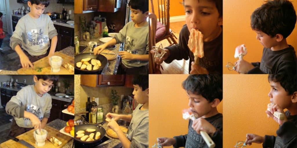 Cocinar con niños by enrilemoine