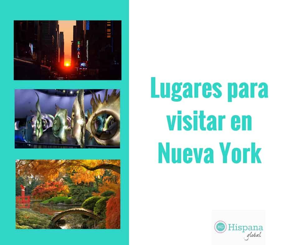Ideas para visitar en Nueva York