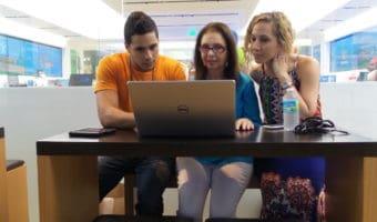 Clases de computación gratis ayudan a vencer el miedo a la tecnología