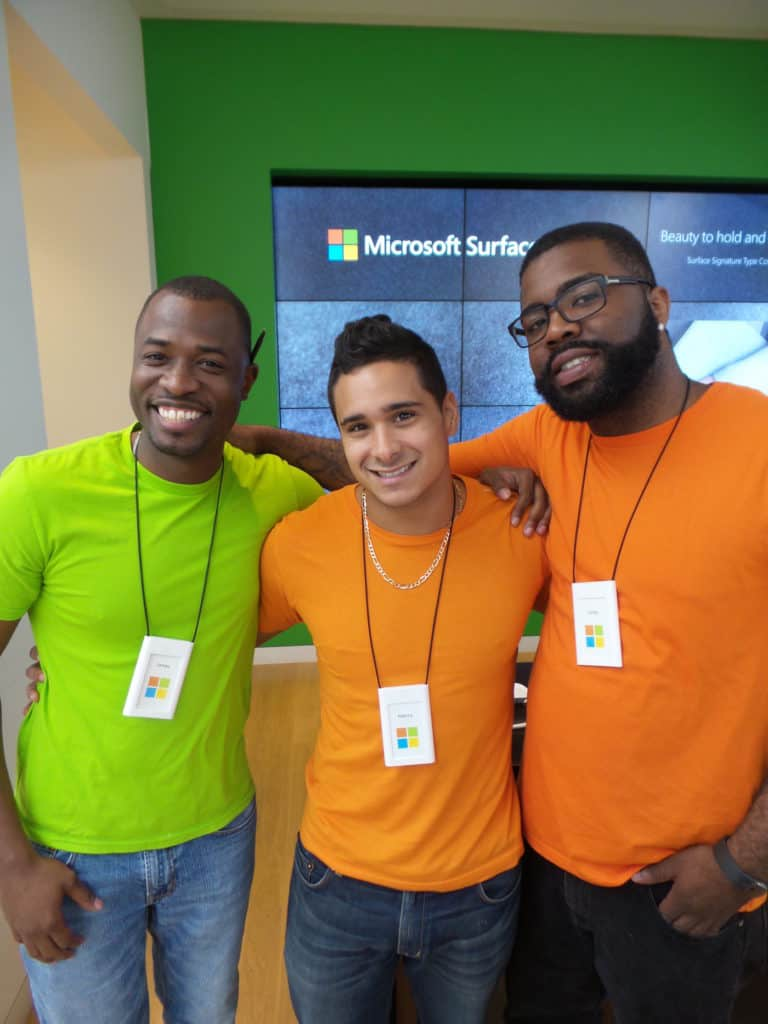Microsoft Aventura tech team