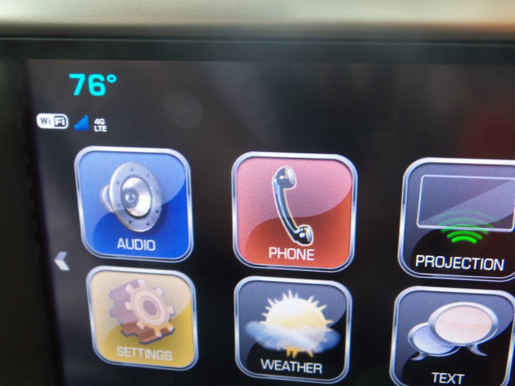 Tecnología de Touchscreen GMC Acadia