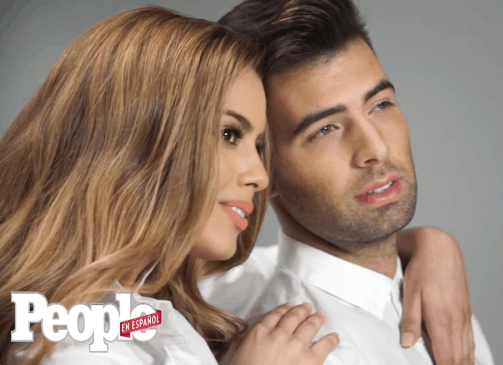 Miss Colombia y Jencarlos Canela People en Español 50 mas bellos