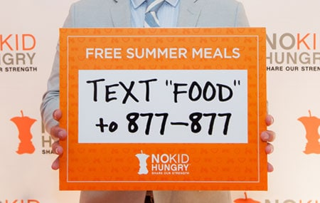 No Kid Hungry Free summer meals Summer-Texting-desktop