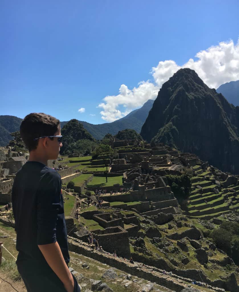 Machu Picchu viajar con hijos