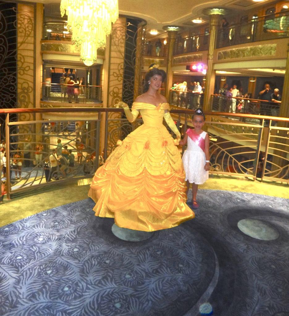 Sofia con princesa Belle