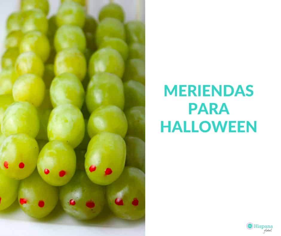 Meriendas saludables para Halloween o noche de brujas