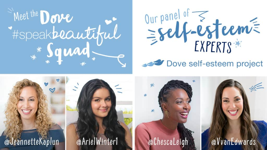Dove #SpeakBeautiful squad