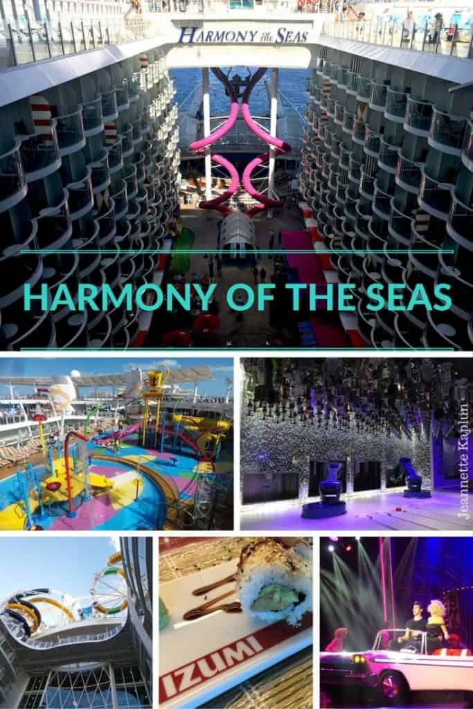 Harmony of the seas collage
