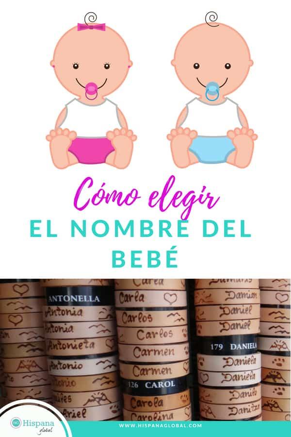 7 consejos para que sepas cómo elegir el nombre del bebé