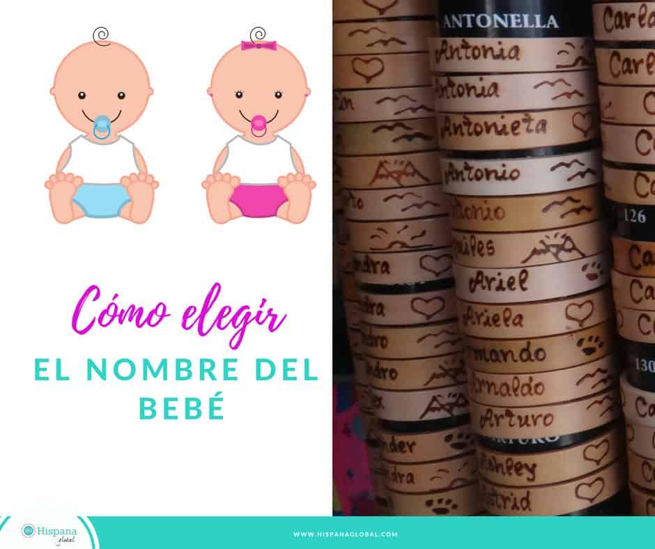 ideas a la hora de elegir nombres de bebés