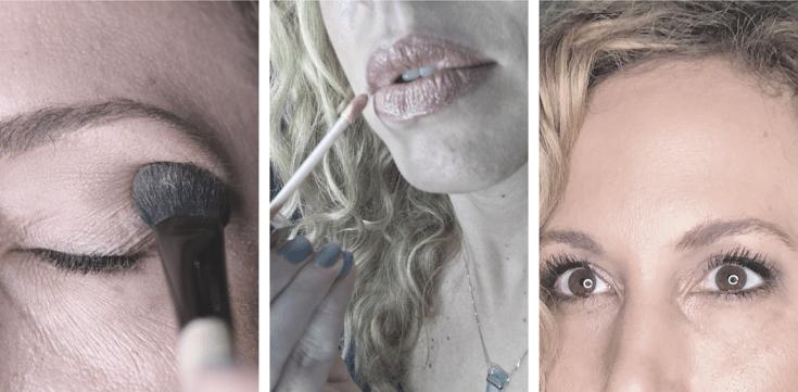 Maquillaje luminoso y fresco