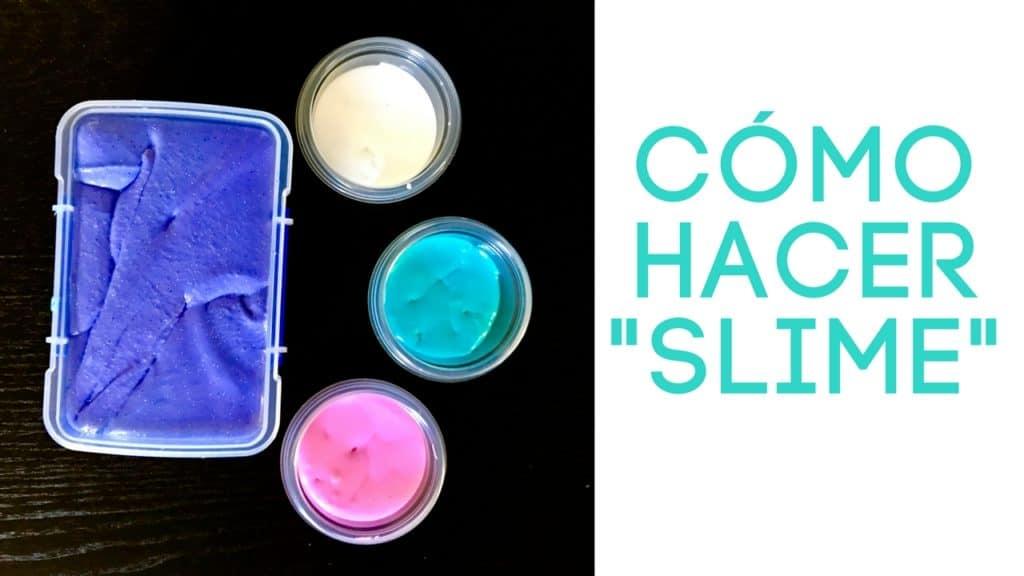 Consejos para hacer slime en casa