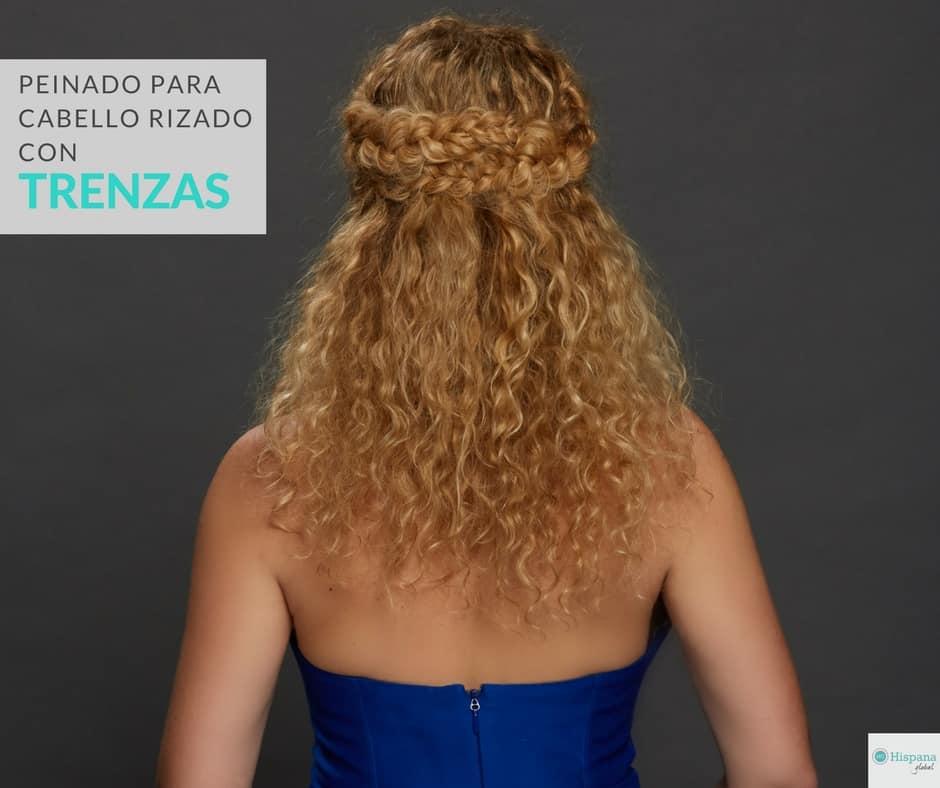 Tutorial: Peinado para cabello rizado inspirado en NYFW