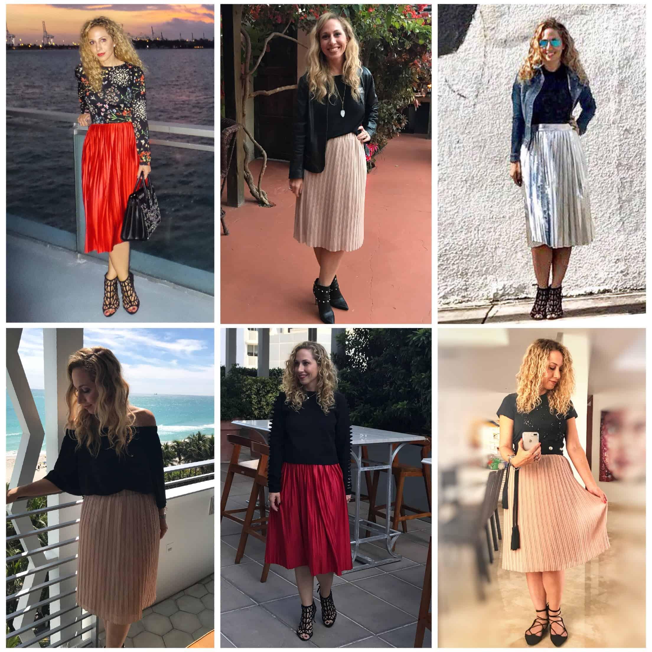 14c8dcc92 5 maneras de usar una falda midi plisada - Hispana Global