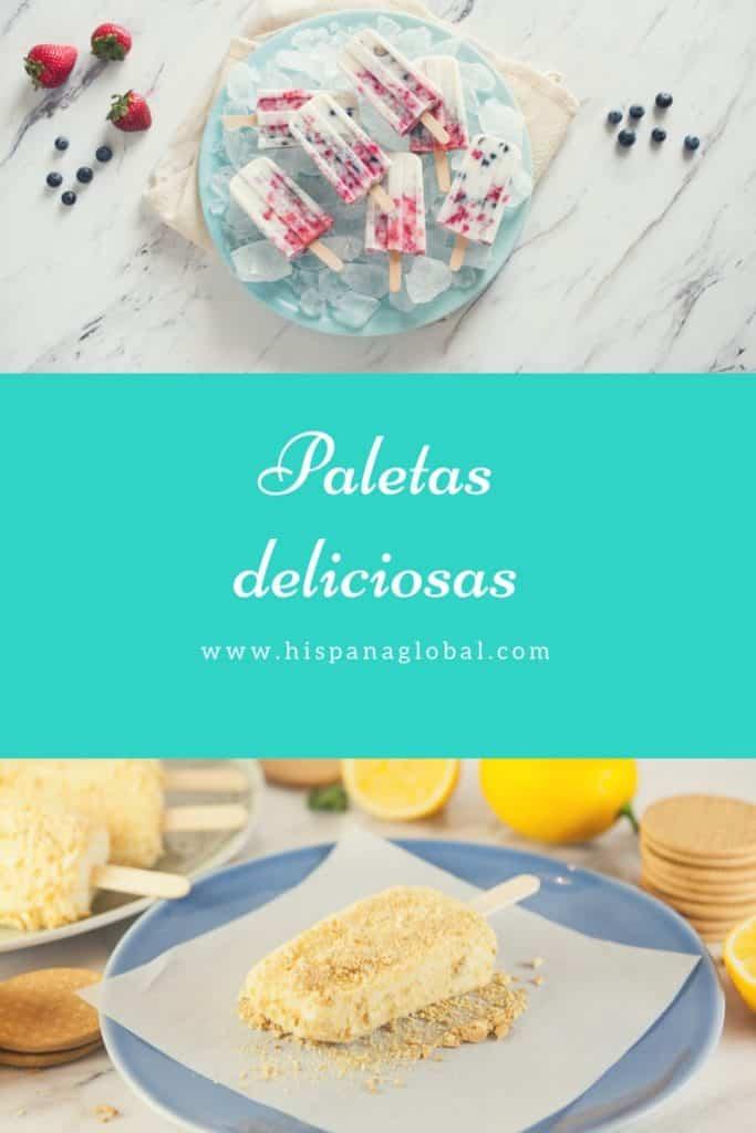 Paletas deliciosas y refrescantes via hispanaglobal.com