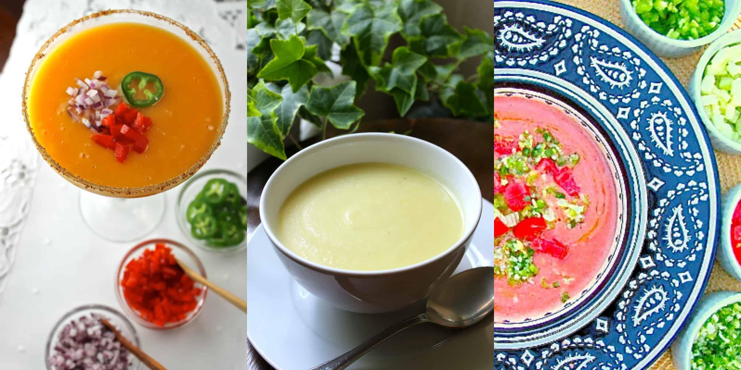 Sopas frías: 3 recetas deliciosas y frescas - Hispana Global