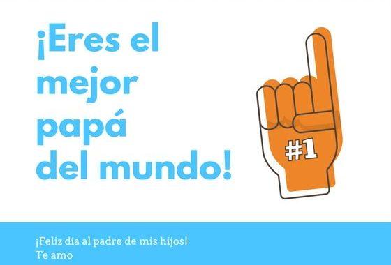 Tarjeta gratis para el día del padre via hispanaglobal.com